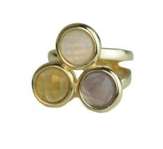 anel semijoia bijuteria fina em pedra brasileira na cor tendencia do verão 2013 Candy Colors Cor pastel (3)