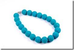 Colar de bolas Azul Color Blocking - Colecao Primavera Verao 2012 Penelope Acessorios Bijuterias e Semijoias