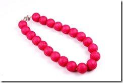 Colar de bolas Pink Color Blocking - Colecao Primavera Verao 2012 Penelope Acessorios Bijuterias e Semijoias