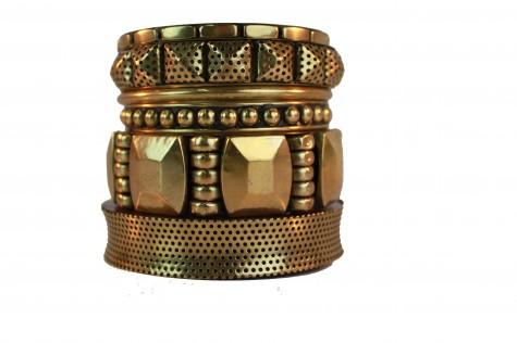 braceletes de metal