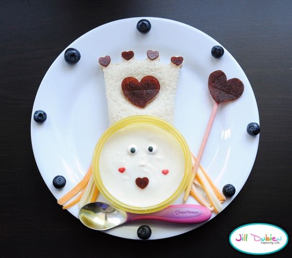 comida divertida para crianças Jill Dubieu