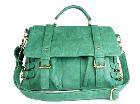 bolsa verde claro