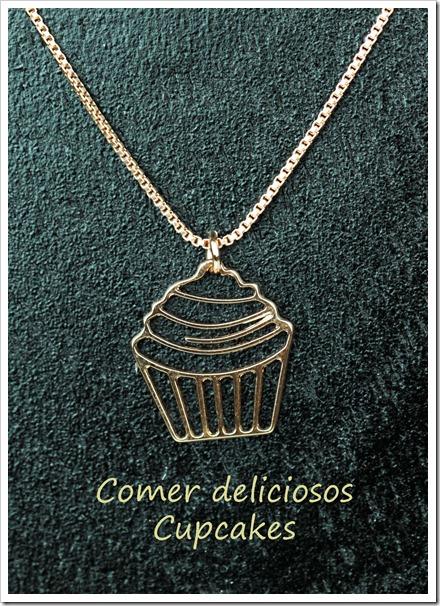 colar cupcake penelope acessorios
