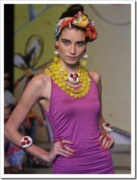 desfile Senac Rio Fashion Business - coleção primavera verão 2013 - francesca romana diana - tendência acessórios verão - La Gitane (26)