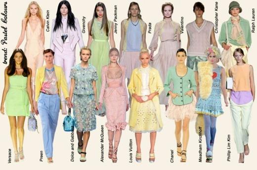 Desfiles Internacionais e Nacionais Color Trend Candy Color - cor tendência verão 2013 cores pastel cor de bala (1)