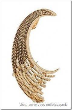 Gold-Decoratiive-Crescent-Ear-Cuff-Miss-Selfridge - brinco de orelha inteira - ear cuff - cuff earring -ear piece ear cuff
