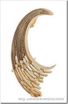 Gold-Decoratiive-Crescent-Ear-Cuff-Miss-Selfridge - brinco de orelha inteira - ear cuff - cuff earring -ear piece ear cuff