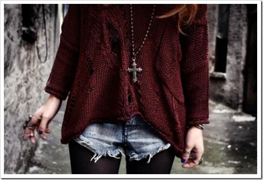 look do dia burgundy cor tendência inverno 2012 (15)