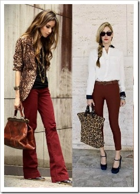look do dia burgundy cor tendência inverno 2012 (4)