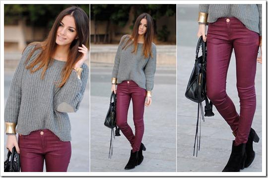 look do dia burgundy cor tendência inverno 2012 (8)