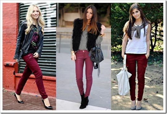 look do dia burgundy cor tendência inverno 2012 (9)