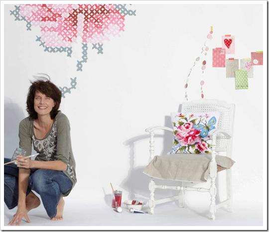 ponto de cruz, point de croix, cross stitch embroidery, punto de cruz, inspiração, decoração, decoração romântica, (4)
