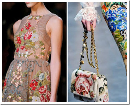tendencia inverno 2012 2013 Ponto-Cruz point de croix cross stitch embroidery balmain valentino dolce&gabbana (6)