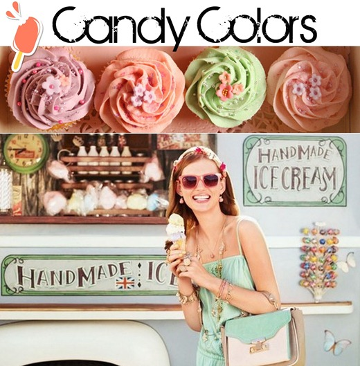tendência Candy Color
