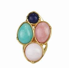 anel semijoia bijuteria fina em pedra brasileira  na cor tendencia do verão 2013 Candy Colors Cor pastel (14)