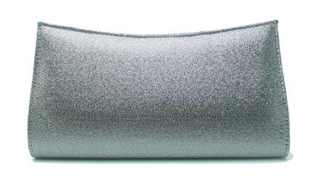 carteira de mão bolsa de festa prata velho1