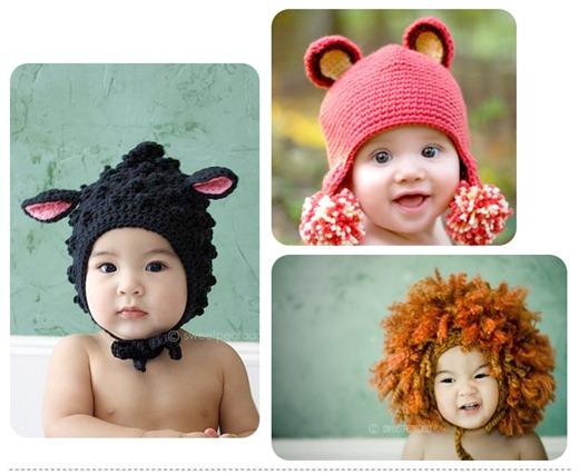chapeu gorro bebê criança infantil crochet for kids knitting hats baby hats (21)