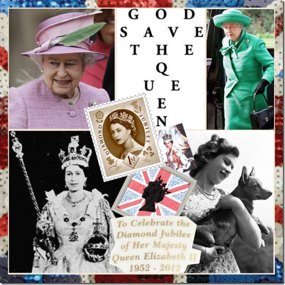 God Save the Queen - Jubillee - Estilo acessórios fashion moda Jubileu da Rainha - England Style Queen-Elizabeth