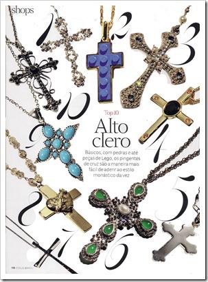 tendencia acessório bijuteria semijoia em CRUZ verão 2013
