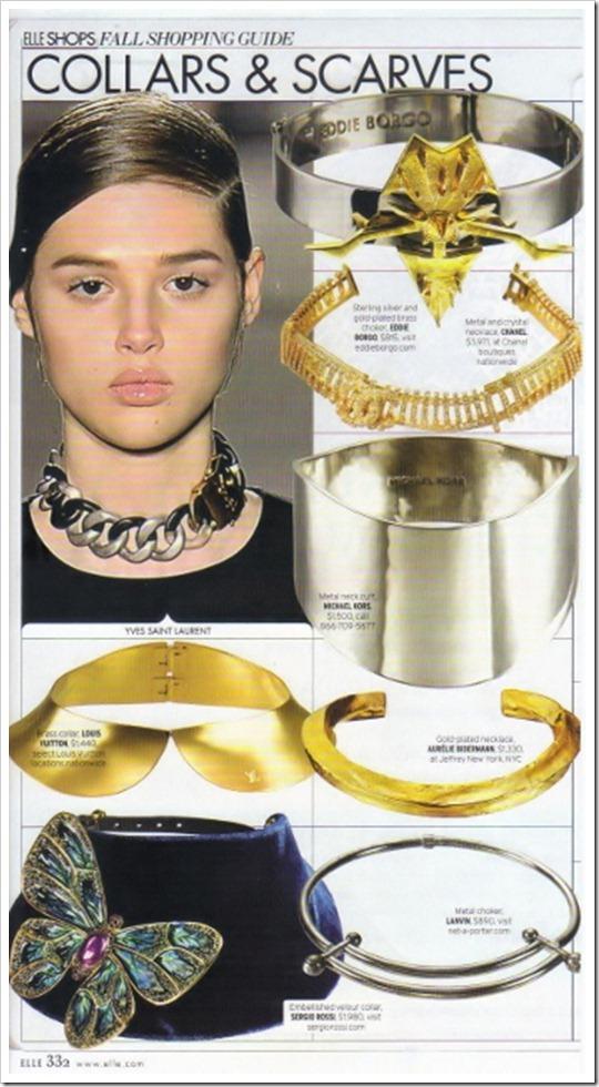 tendência acessórios 2012 2013 colar gargantilha com corrente comprida e pendente chokers necklace pendant fashion trend accessories (13)