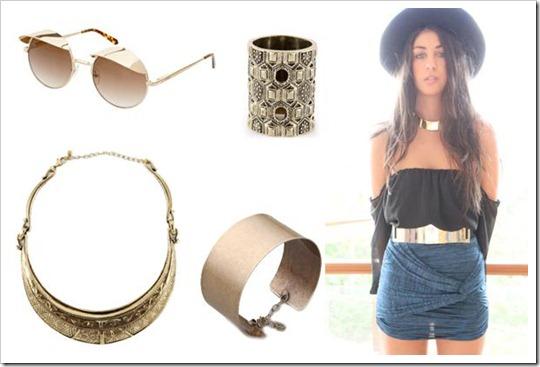 tendência acessórios 2012 2013 colar gargantilha com corrente comprida e pendente chokers necklace pendant fashion trend accessories (6)