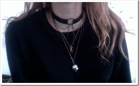 tendência acessórios 2012 2013 colar gargantilha com corrente comprida e pendente chokers necklace pendant fashion trend accessories (22)