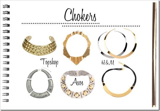 tendência acessórios 2012 2013 colar gargantilha com corrente comprida e pendente chokers necklace pendant fashion trend accessories (3)