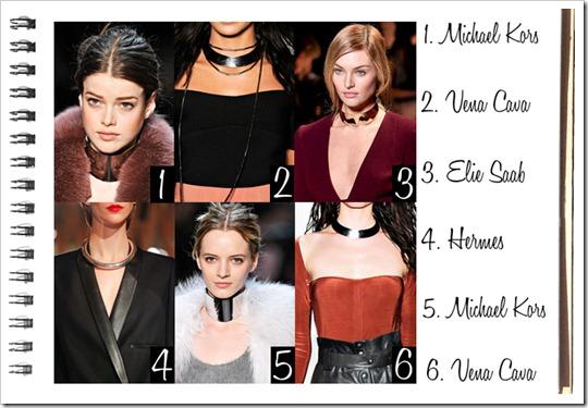 tendência acessórios 2012 2013 colar gargantilha com corrente comprida e pendente chokers necklace pendant fashion trend accessories (1)