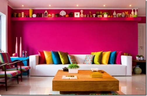 Decoracao moderna colorida contemporanea home decor detalhes coloridos  jovem neon fluor cores vibrantes moda e decor (31)
