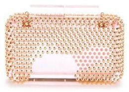 fendi clutch acrylic plexiglass 1