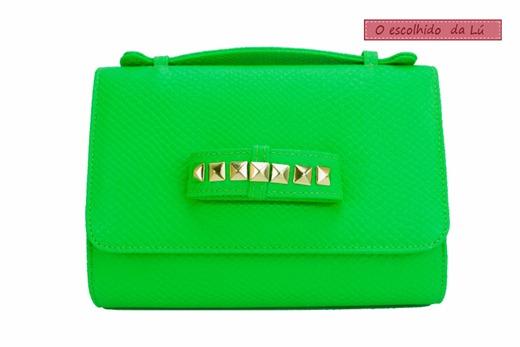 carteira de mão clutch verde neon tendência acessorios verão 2013 carteira de mão lu tranchesi