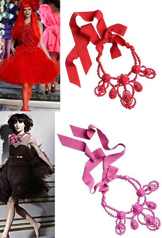 maxi colar lanvin H&M statement necklace Lanvin inspired (3)