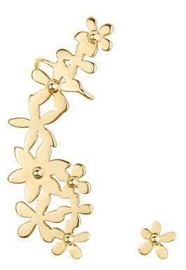 Brinco-EAR-CUFF-FLORES-folheado-a-ouro-dourado