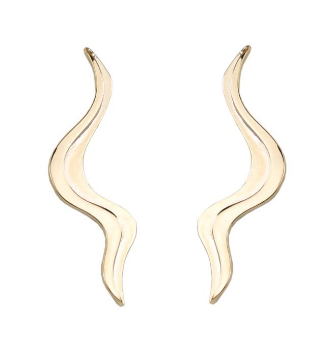 6787f05585f5d Brinco-EAR CUFF SERPENTE folheado-a-ouro ...