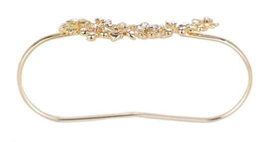 pulseira-de-mão-FLORES-dourada