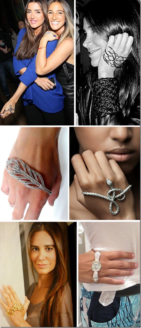 pulseira de mão hand bracelet tendencia acessorios e bijuterias verão 2013 onde encontrar onde comprar no brasil penelope (4)
