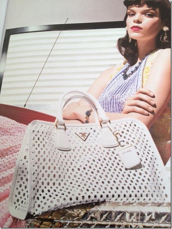 Corte à laser, couro, tecido, bolsas, tendencia bolsas, verão 2014, bolsa cortada à laser, Cut-out-Prada-handbag