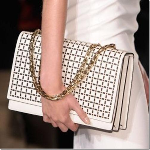 Corte à laser, couro, tecido, bolsas, tendencia bolsas, verão 2014, bolsa cortada à laser, Vitória Beckhams bag