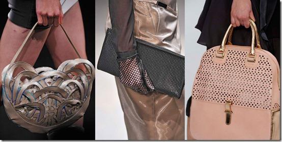 Corte à laser, couro, tecido, bolsas, tendencia bolsas, verão 2014, bolsa cortada à laser