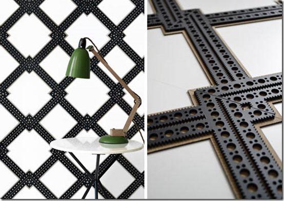 Genevieve-Bennett_revestimentos de parede, couro, corte à laser, decoração, moda, tendências, decoração contemporânea (2)