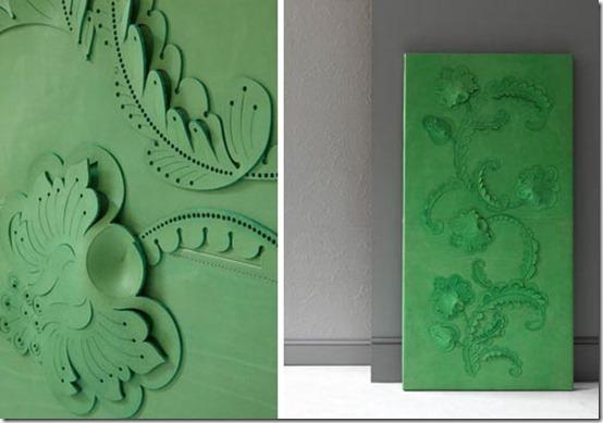 Genevieve-Bennett_revestimentos de parede, couro, corte à laser, decoração, moda, tendências, decoração contemporânea (3)