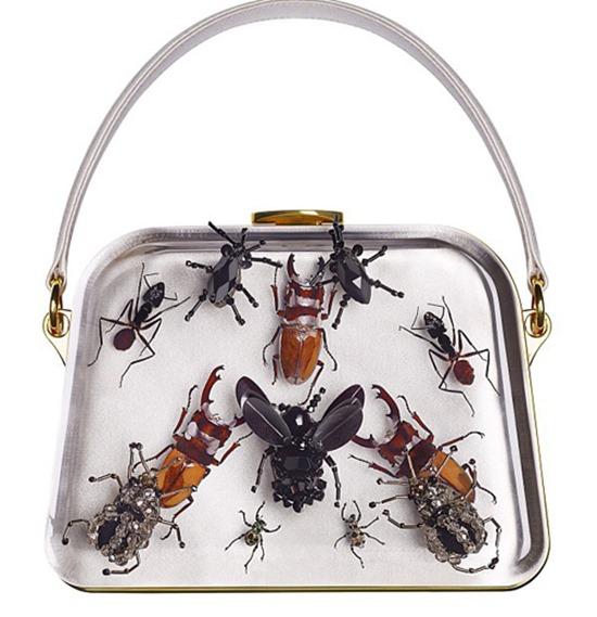 broche insetos bolsa-prada